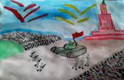 """Итоги районного онлайн-конкурса рисунков """"Победный май"""""""